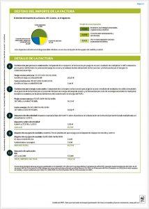 Reverso de factura de luz en el mercado regulado
