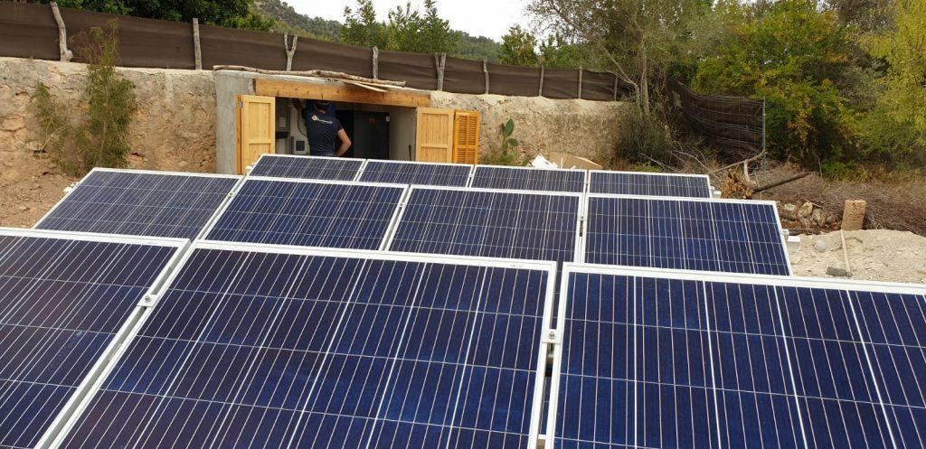 Reforma eléctrica de una vivienda aislada en Binisalem