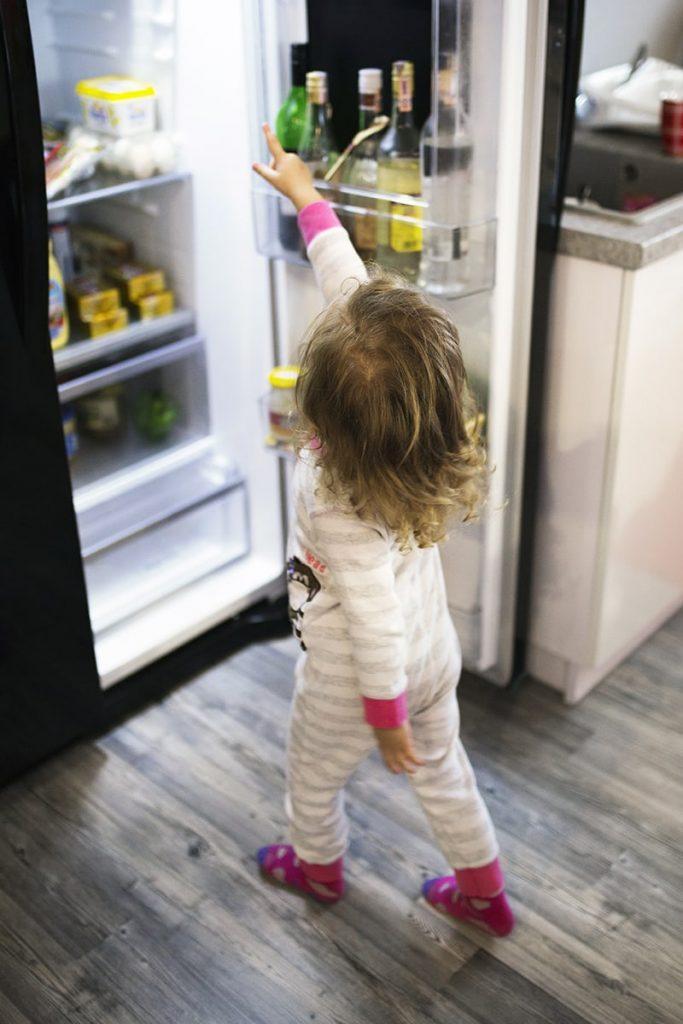 Un frigorífico abierto consume más energía
