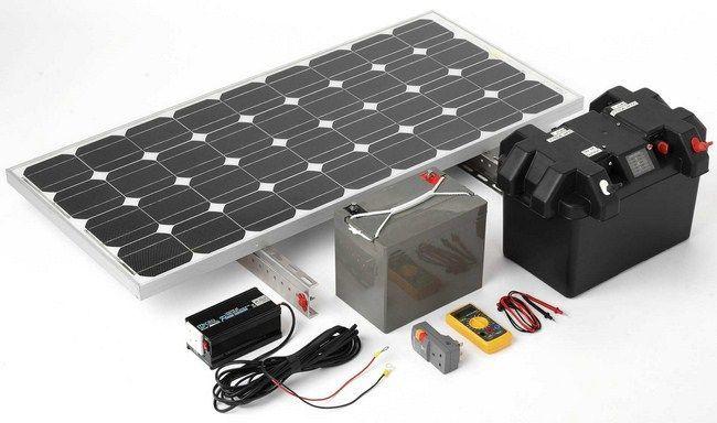 Equipo fotovoltaico para vivienda